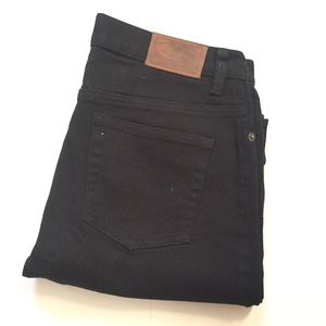 Vintage Ralph Lauren high waisted jeans black